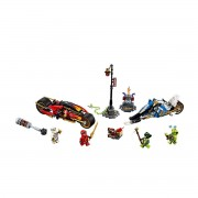 Lego Ninjago Mota de Espadas do Kai e mota de Neve do Zane, 70667Multicolor- TAMANHO ÚNICO