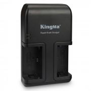 Kingma LP-E6 cargador de CA para Canon LP-E6 / EOS 5D Mark II III 5DS 6D 7D