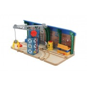 Thomas and Friends Wooden Railway - Repair and Go Station at Sodor Steamworks