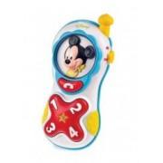 Jucarie interactiva Clementoni Baby telefonul lui Mickey Mouse cu sunete si lumini