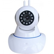 MIRZA Wireless HD CCTV IP wifi Camera | Night vision Wifi 2 Way Audio 128 GB SD Card Support for OPPO R3