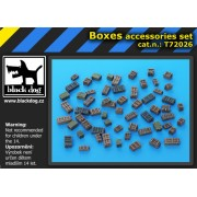 Black Dog - Set accesorii 1 – Cutii 1:72