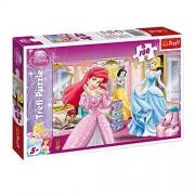 Small foot company Puzzle Principesse Disney 100 Pezzi Biancaneve Cenerentola Ariel Trefl Gioco Bambini