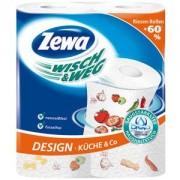 Prosoape Bucatarie Zewa Wisch&Weg Design 2 role 2 straturi