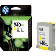 HP C4909AE YELLOW INKJET CARTRIDGE