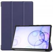 Bolsa Fólio Inteligente Tri-Fold para Samsung Galaxy Tab S6 - Azul Escuro