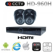 CCTV set 960H s 2x dome kamery s 20m IR + DVR s 1TB HDD