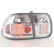 FK-Automotive fanale posteriore a LED per Honda Civic 4-trg (tipo EJ9 / EK1 /2/3) anno di costr. 96-98, cromato