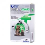 Pestigon Combo pisici si dihori - cutie cu 3 pipete