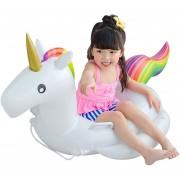 Salvavidas Inflable En Forma De Unicornio Para Niño