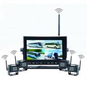 """4 kamerový WiFi parkovací systém + 7"""" LED WiFi monitor"""