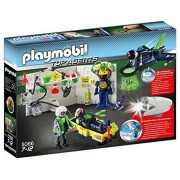 Playmobil Top Agents Laboratory With Jet