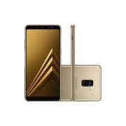 Smartphone Samsung Galaxy A8 Plus Dual Chip Android 7.1 Tela 6 Octa-Core 2.2GHz 64GB 4G Câmera 16MP - Dourado