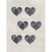 NLY Lingerie Heart Lace Covers 3-pack BH & Toppar