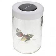 MagiDeal Novelty Solar Powered Bottle Butterfly Dancing Toy Gift Fairy Garden Decor