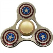 Captain America Metal Spin with Long Spin Bearing