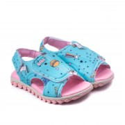 Sandale Fete Summer Roller New II Jeans Cu Velcro