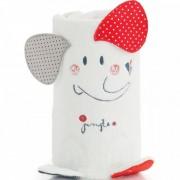 Pirulos 86212015 - Manta Toy Microfibra 80 X 90, Hello Dream Color Blanco Y Rojo
