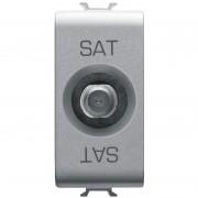 Priza TV/SAT directa 1 modul titan Gewiss Chorus GW14371 (GEWISS)