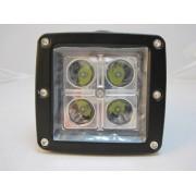 Proiector auto LED 9-32V - 4 LED-uri de mare putere