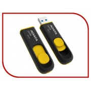 USB Flash Drive 64Gb - A-Data DashDrive UV128 USB 3.0 AUV128-64G-RBY