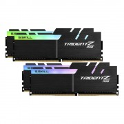 DDR4, KIT 64GB, 4x16GB, 3600MHz, G.SKILL Trident Z RGB, CL17 (F4-3600C17Q-64GTZR)