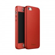 Husa Ipaky Iphone 5/5S/5SE Full Cover 360 - Rosu