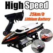 Great Promotion 2.4G RC Boat UDI udi001 boat Infinitely Variable Speeds/high Speed Racing Boat 32CM 25km/h Best Gift