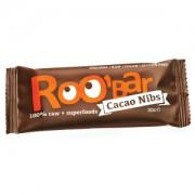 Baton Raw Bio cu miez de cacao si migdale 30g