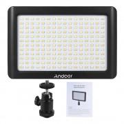 Andoer Mini Studio Video Fotografie LED Panel Lamp 3200 K/6000 K 192 stks Kralen voor Canon Nikon DSLR Camera DV Camcorder