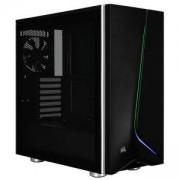 Компютърна кутия Corsair Carbide SPEC-06 RGB (Mid-Tower, Black), Tempered Glass, CC-9011146-WW