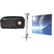 Pachet Videoproiector InFocus IN112x (800 x 600) + Ecran de proiectie + Suport Videoproiector