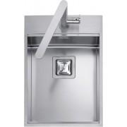 Chiuveta BARAZZA B_Free 1LBF36 36x51 cm cu 1 cuva si nisa pentru accesorii