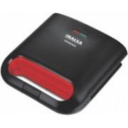 Inalsa Phoenix Grill 750-Watt Sandwich Toaster Grill(Black, Red)