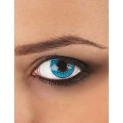 Vegaoo.es Lentillas de contacto fantasía azul 3 tonos