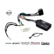 COMMANDE VOLANT Nissan Pulse 2011- - Pour JVC complet avec interface specifique
