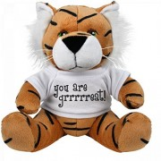 You Are Great Plush: Small Tiger Stuffed Animal