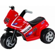 Tricicleta electrica pentru Copii Peg Perego Mini Ducati 6V Rosu