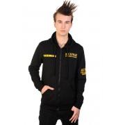 sweat-shirt avec capuche pour hommes - Alcatraz - BANNED - HBN006