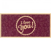 "I Love You - Buono Acquisto Stampato su Carta Riciclata - Buono """"I Love You"