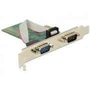 DeLock PCI Express Card > 2x Serial RS-232 89555