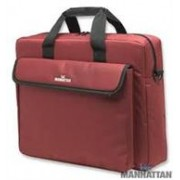 "Manhattan 15.4"" Fuchsia London notebook bag,"