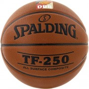 Spalding Basketball TF 250 DBB (Indoor/Outdoor) - braun | 7