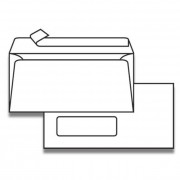 Plic DL (110x220 mm) alb siliconic fereastra stanga