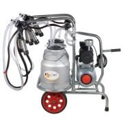 Aparat de muls vaci EMT2+2A25, 2bidoane aluminiu 25 litri, 2posturi