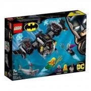 Конструктор Лего Супер Хироу - Batman – бат-подводница и подводна битка, LEGO DC Comics Super Heroes 76116