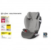 Cybex auto sedište (15-36kg)2/3 Solution M-Fix Manhattan grey sivo (5100070)
