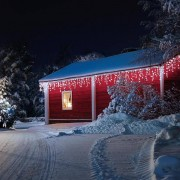 Blumfeldt Dreamhouse Snow Guirlande lumineuse de Noël 16m 320x LED Effet neige - blanc glacé
