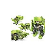 Cute Sunlight T4 Transforming Solar Powered Robot Kit - Science Education Diy Toys