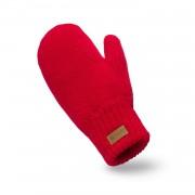 Rękawiczki damskie PaMaMi - Czerwone